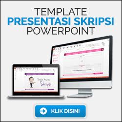 Template Presentasi Skripsi Powerpoint 250x250