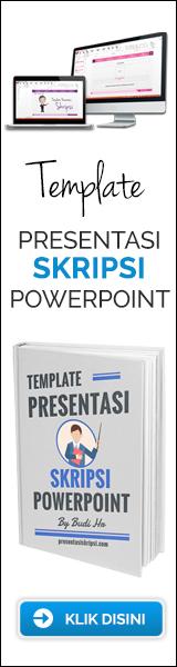 Template Presentasi Skripsi Powerpoint 160x600