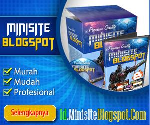 30 Minisite Minisite Blogspot 300 x 250