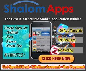 ShalomApps - iPhone, iPad, Android, Amazon Kindle Mobile App 300x250