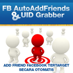 FB AutoAddFriends + UID Grabber 250x250