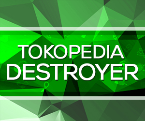 Tokopedia Destroyer 300x250
