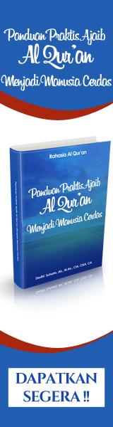 Panduan Praktis Ajaib Al Qur'an Menjadi Manusia Cerdas 160x600