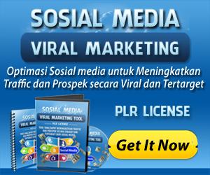 PLR Sosial Media Viral Marketing 250 x 300
