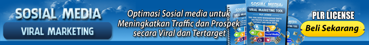 PLR Sosial Media Viral Marketing 728 x 60